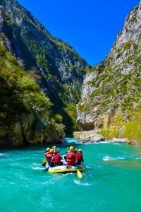 rafting départ castellane